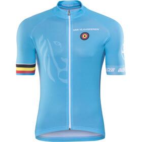 Bioracer Van Vlaanderen Pro Race Kortärmad cykeltröja Herr blå